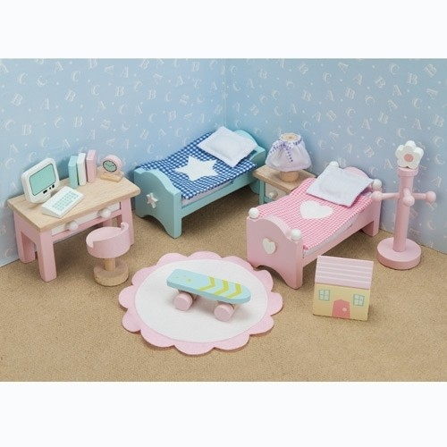 Le Toy Van Puppenhaus Kinderzimmer