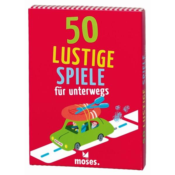50 Lustige Spiele für unterwegs