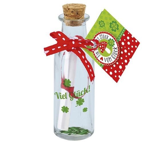 Glücks-Flaschenpost