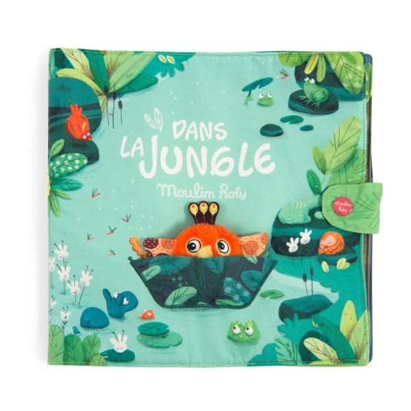 Grosses Stoffbuch Dans la Jungle