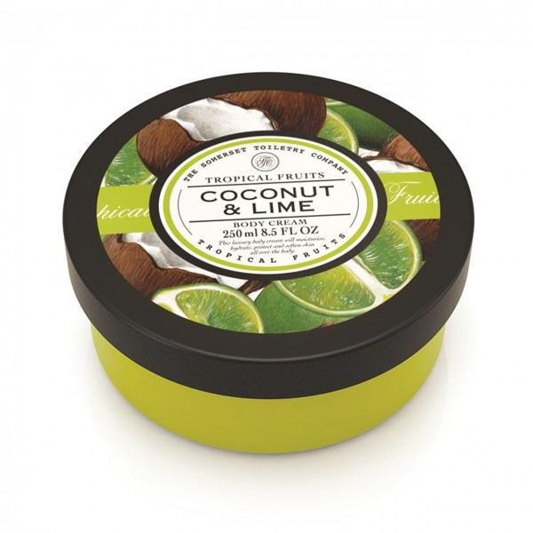 Natural European Bodycreme Coconut & Lime