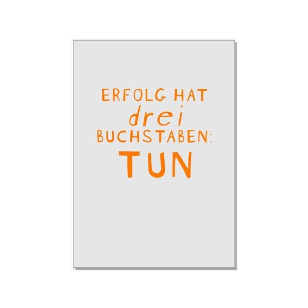 Postkarte hoch, Erfolg