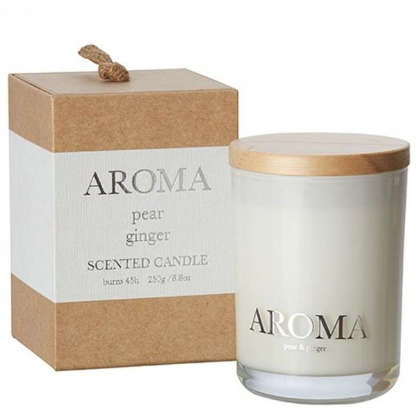 Kerze Aroma pear ginger M