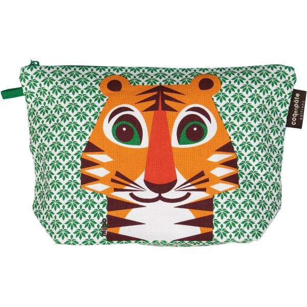 "Kulturtasche groß Tiger ""Mibo"""