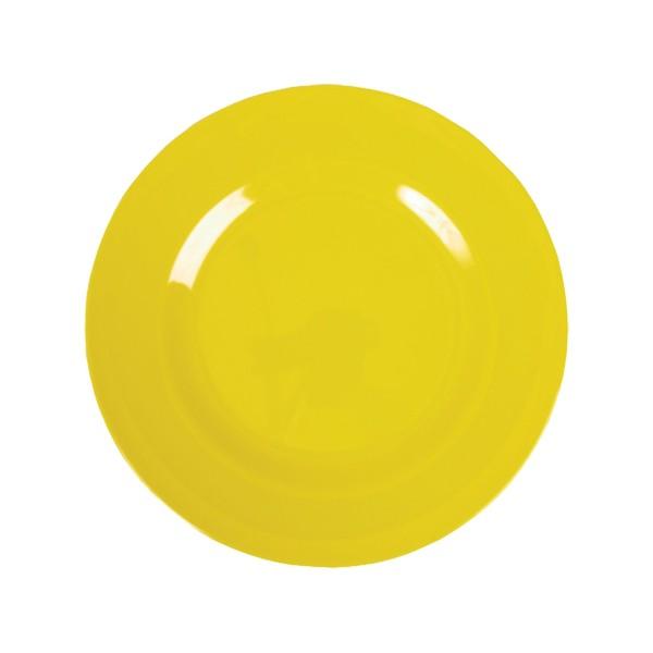 Melamin Teller -Gelb klein