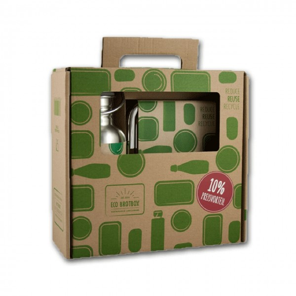 Schulstarter Set Eco Brotbox