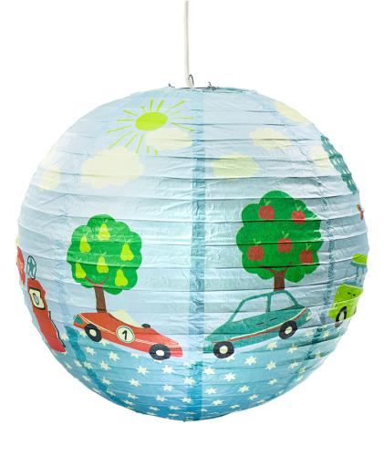 Kinderlampe Lampion Cars