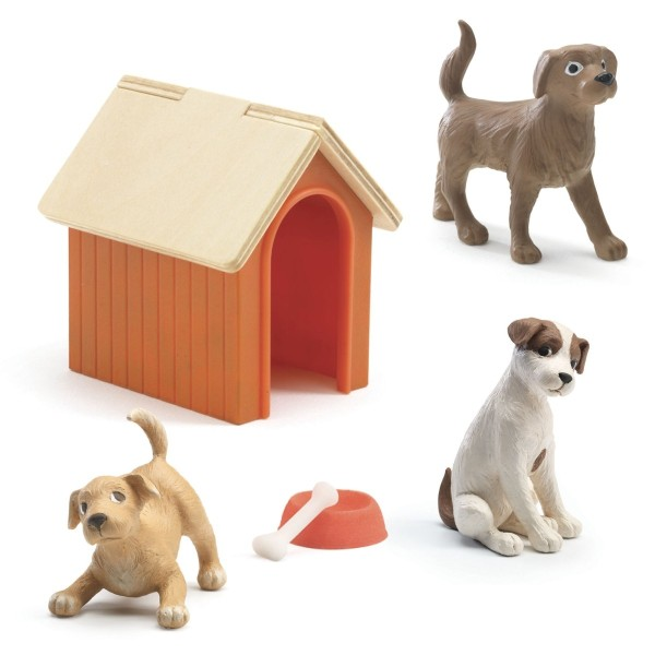 Puppenhaus Hunde