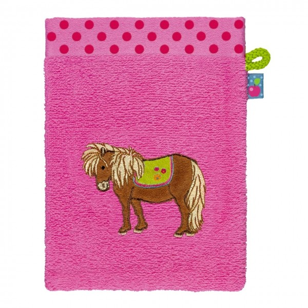 Waschhandschuh Mein kleiner Ponyhof