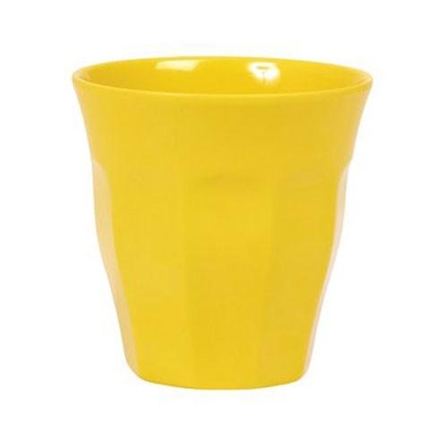 Melamin Becher Yellow