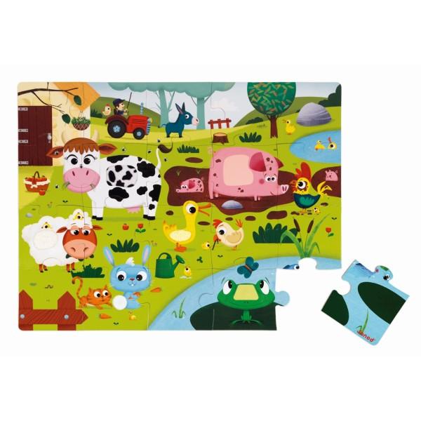 Haptik Puzzle Bauernhof 20 Teile