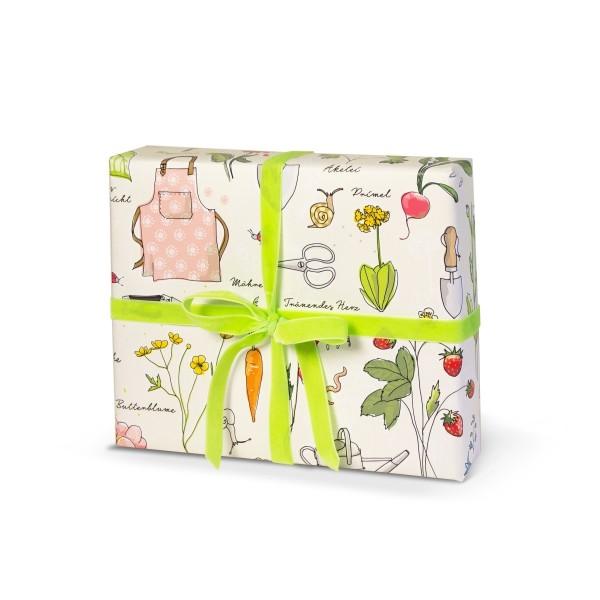 Geschenkpapier Gartenliebelei