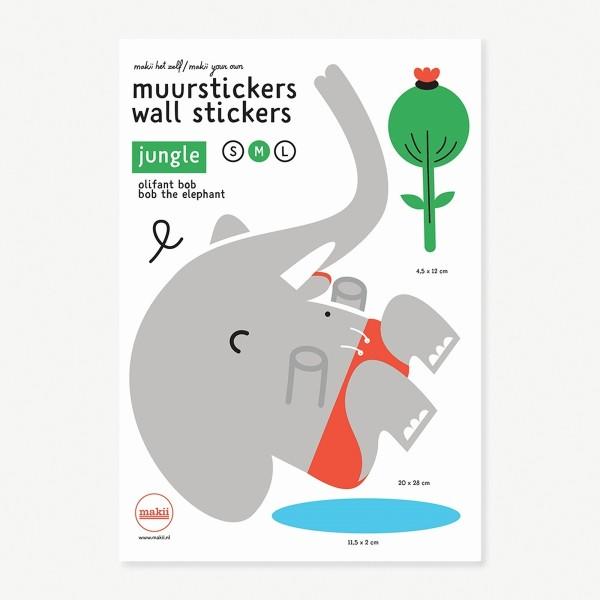 Wandsticker Bob der Elefant