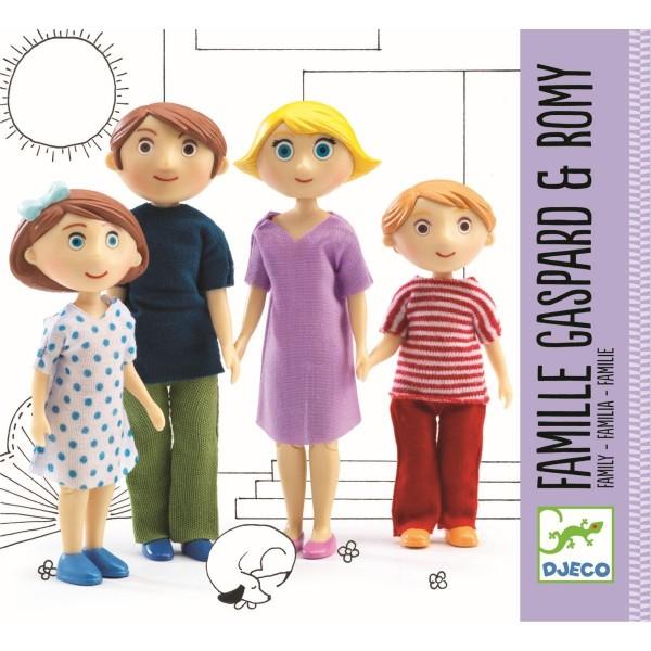 Puppenhaus Familie Gaspard und Romy