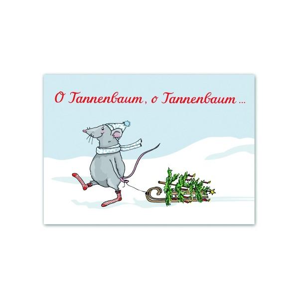 Postkarte O Tannenbaum