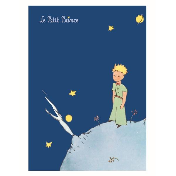 Grosses Notiz - Heft blau Der kleine Prinz