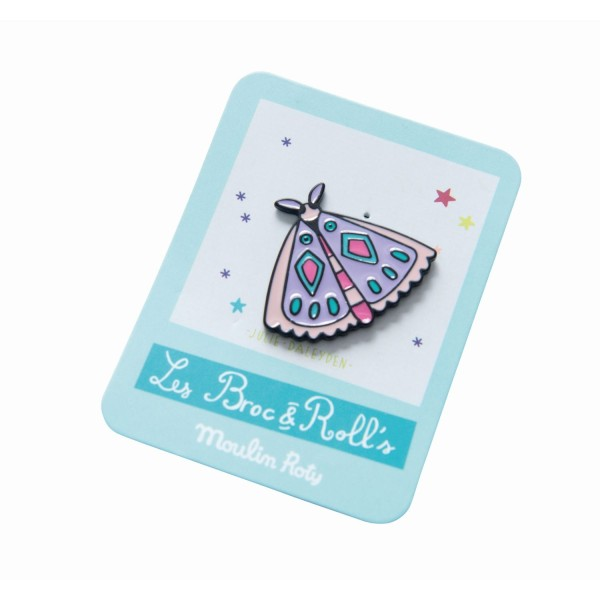 Pin Schmetterling Les Broc & Rolls