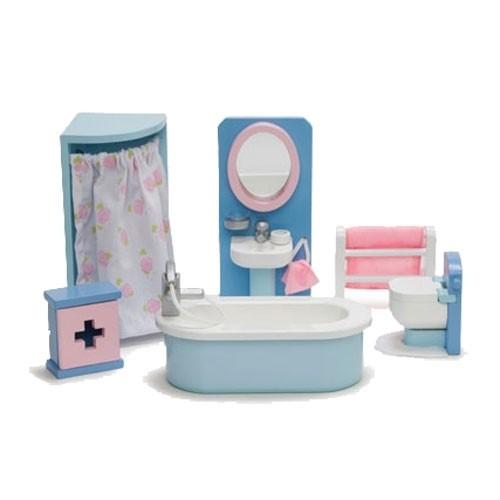 Puppenhaus Badezimmer | Le Toy Van Puppenhaus Badezimmer Puppenhaus Und Mobel Puppen