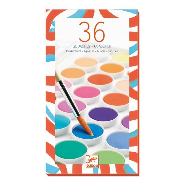Farben: 36 Wasserfarben