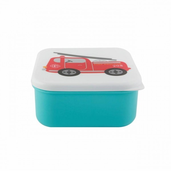 Brotdose Lunch Box Fire Engine