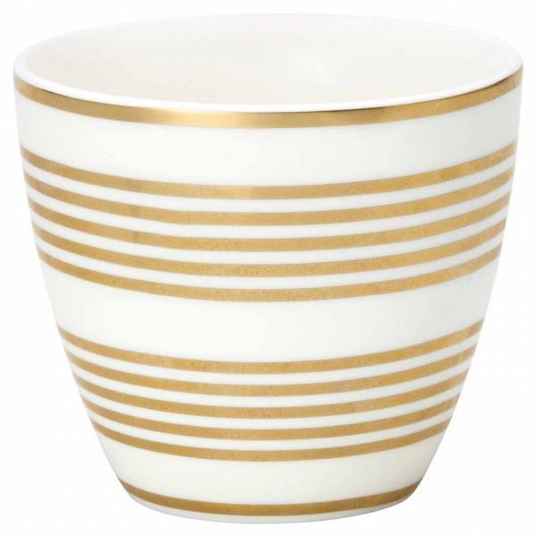 Latte Cup Becher Thiana gold