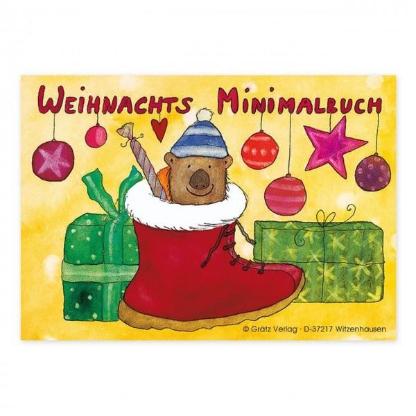 Mini Malbuch Weihnachtsstiefel A7