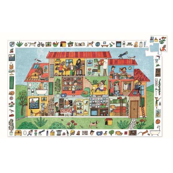 "Puzzle Wimmelbild ""Das Haus"" 35 Teile"