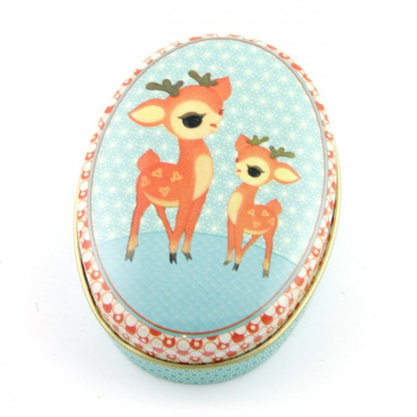 "Froy & Dind Dose oval ""Bambi & Child"""