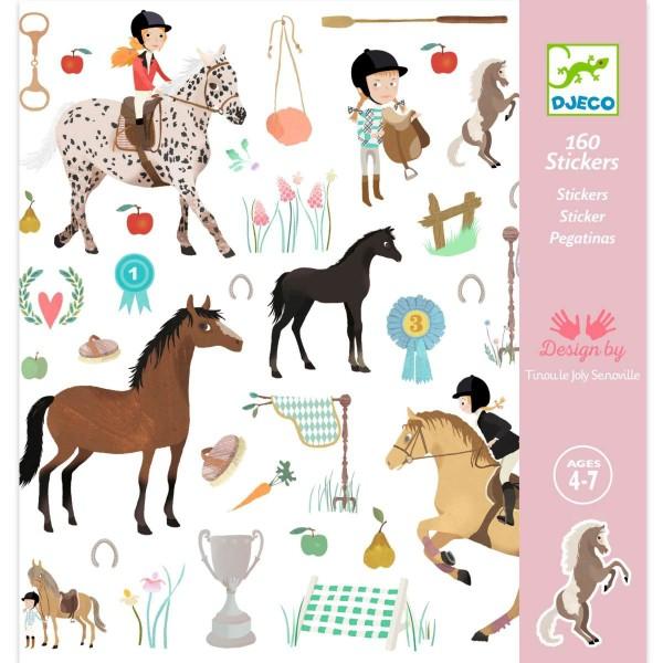 Sticker: Pferde