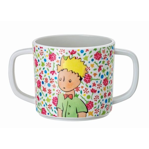 Melamin - Tasse rosa Der kleine Prinz