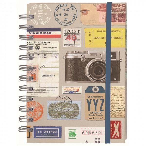 Fernweh Eintragbuch Reisenotizen