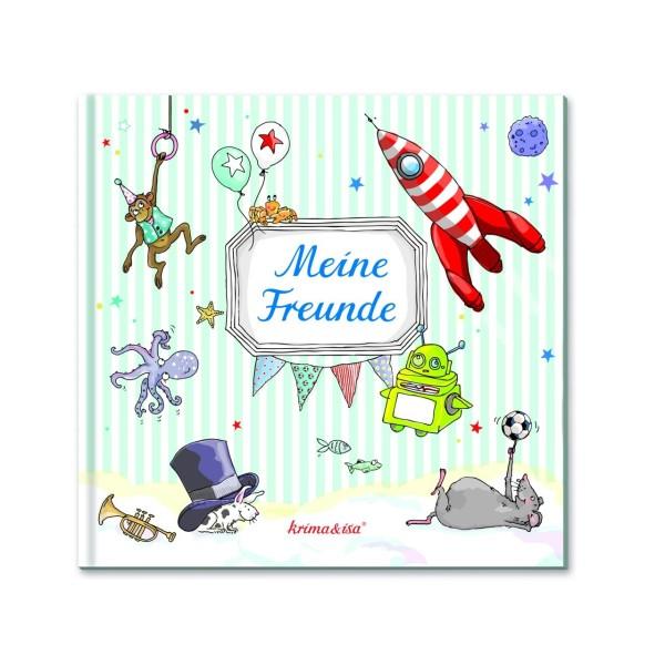 Buch Meine Freunde türkis