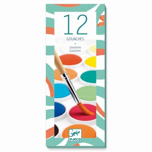 12 Wasserfarbenkasten  - Classic