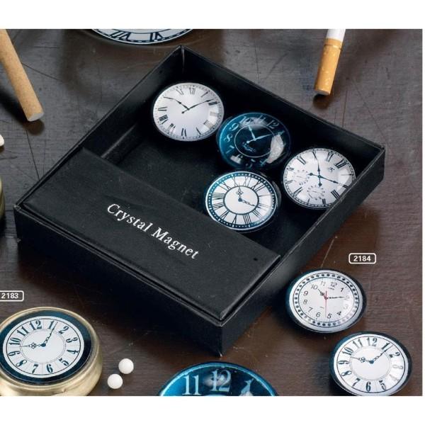 Glasmagnete Uhren