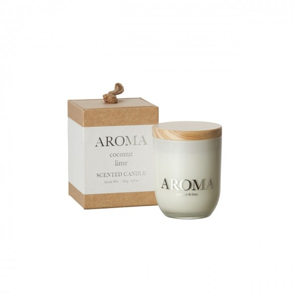 Aroma Duftkerze coconut & lime S