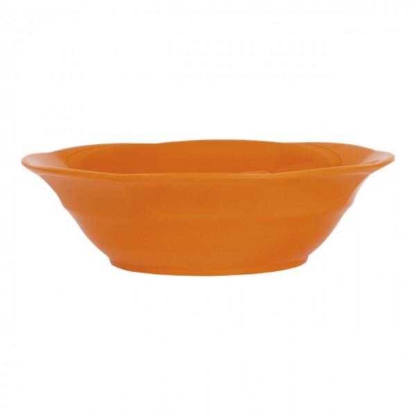 Melamin Suppenteller Granny Orange