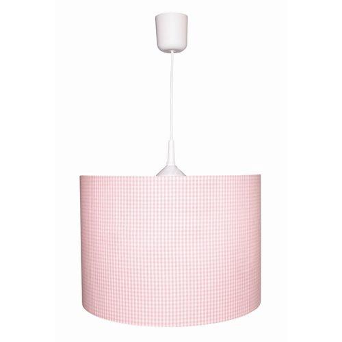 Kinderlampe Karo rosa