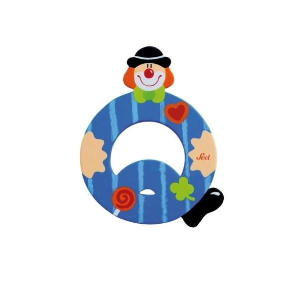 SEVI Buchstabe Clown Q