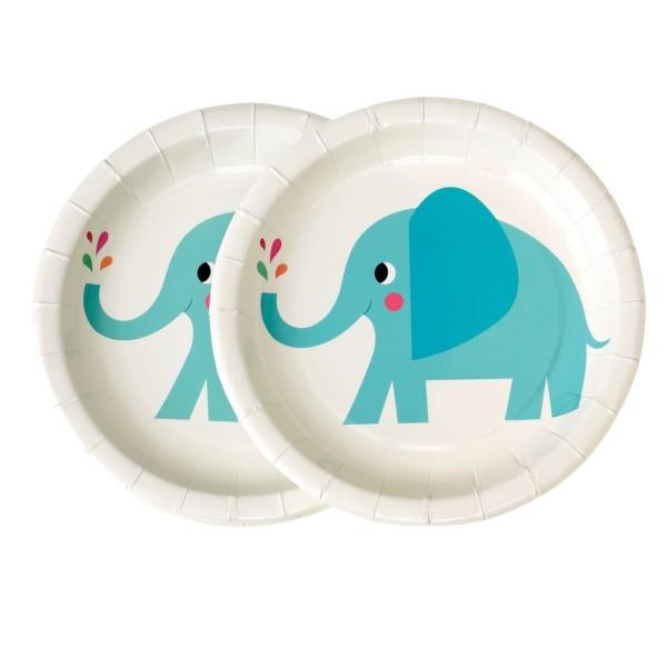 Pappteller Elefant Elvis