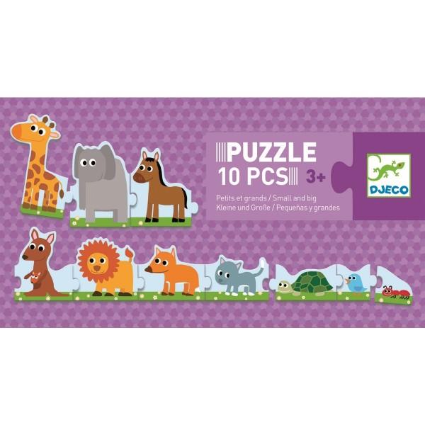 "Puzzle ""Small-Big"" 3+"