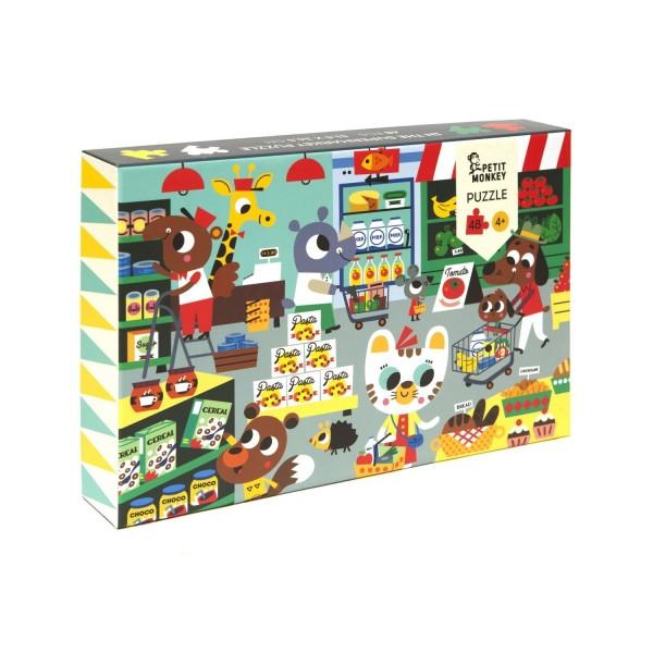 Puzzle Supermarkt