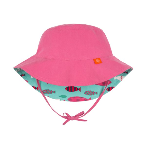 Sun Protection Bucket Hat girls, 24-36 Monate, light pink