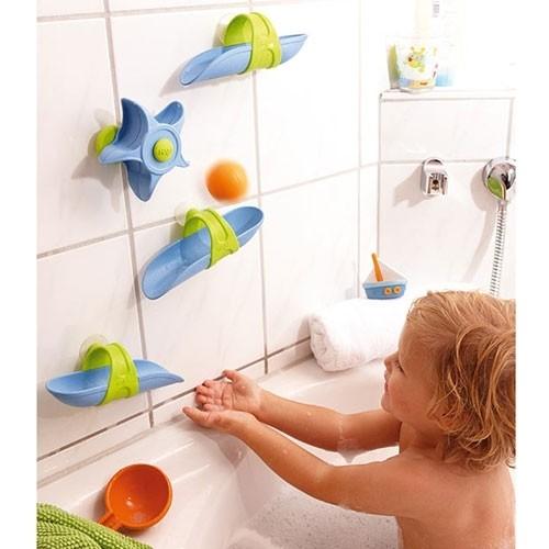 Kugelbahn für Badewanne