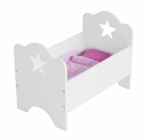 Puppenbett Star