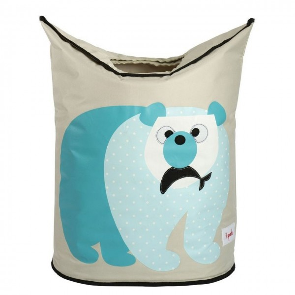 3sprouts Wäschekorb Eisbär