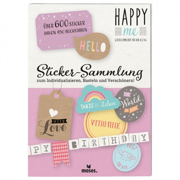Happy Me Stickersammlung Hello