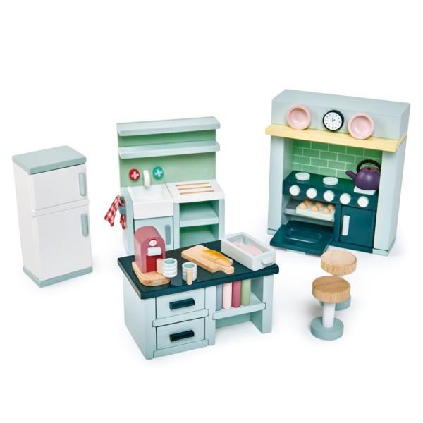 Puppenhaus Küchen Set