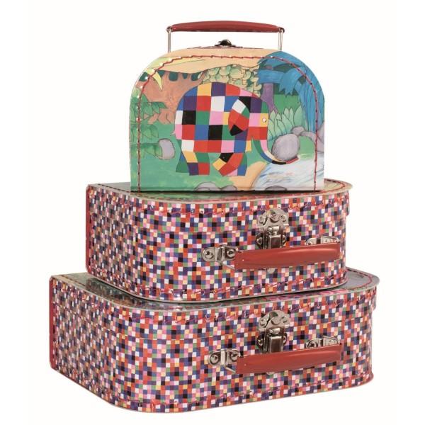 3-er Kofferset (16-20-25cm) Elmer
