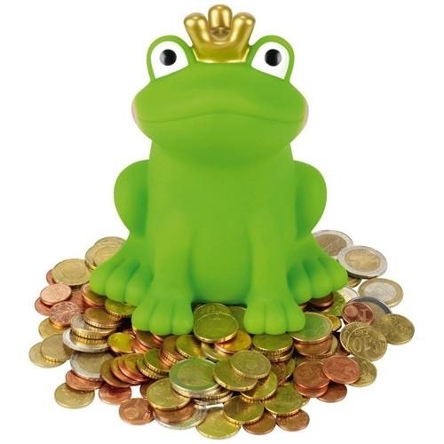 Froschkönig Spardose