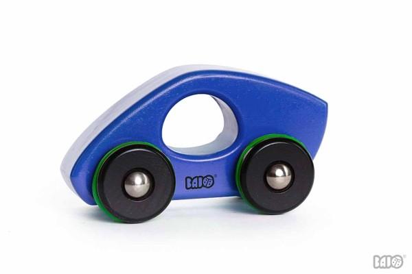 Holzauto  8 blau